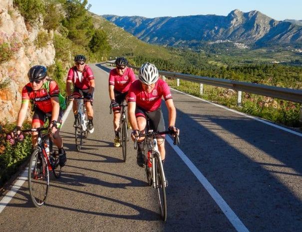 Boek een fietsvakantie in de Costa Blanca met of zonder tourbegeleiding bij Cycling Con Gusto